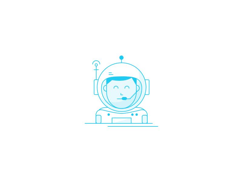 Astronaut By Darius Dan
