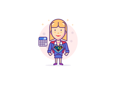 Accountant Character