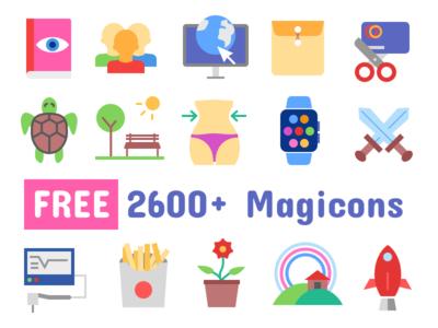 2600+ Icons Freebie