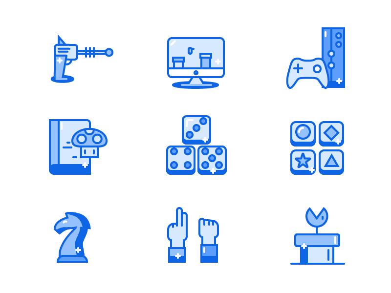 Monotone icons