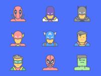Emojious Superheroes