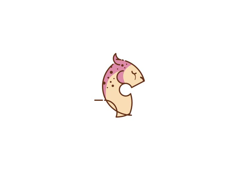 Cheetah animal and pet character vector logo illustration icons