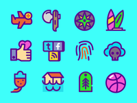 Thick Icons
