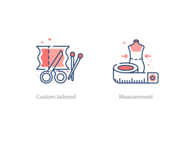 Tailor Icons Set 1