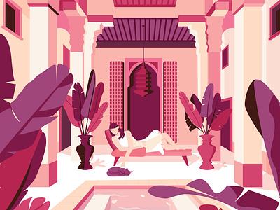 Morocco morocco character adobe illustration design illustrator vector