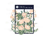 Iris local flower shop