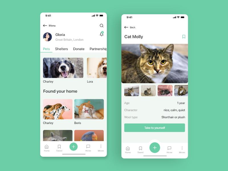 Animals help trends work animals help iosdesign mobile app design digital ui awesome design dribbble ux design ui design uiux adobexd design