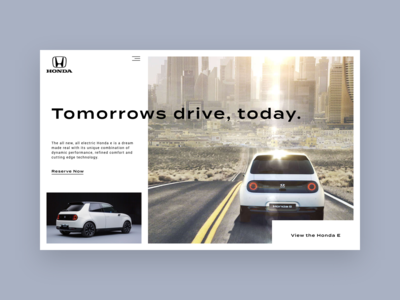 Honda E Header Showcase Concept