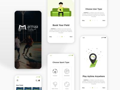 Marmaa Field Booking App