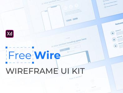 Free wireframe kit for Adobe XD