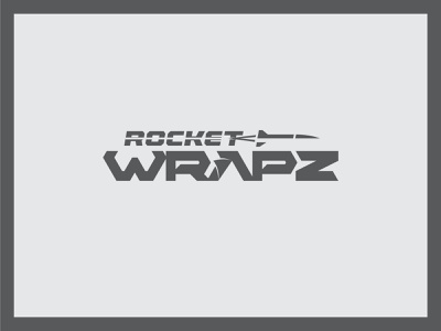 Rocket Wrapz rocket car logo car wrap