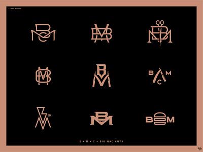 BMC Logo set branding iconography logotype badge logo badge icon