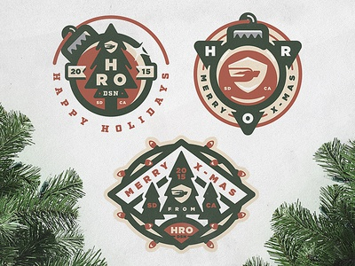 HRO Holiday Icons