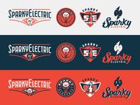 Sparky Electric Logos