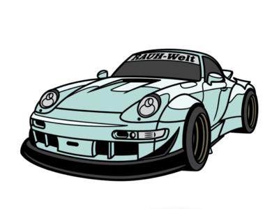 Porsche RWB (Hawaii)