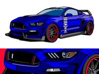 Mustang Show Car