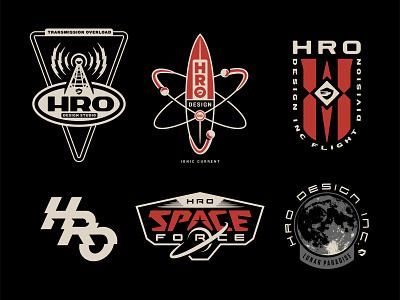 Hro Stuff 02 space design logotype graphic badge logo