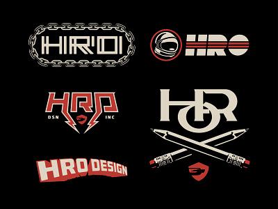 Hro Stuff 01 space typography concept design logotype graphic badge logo
