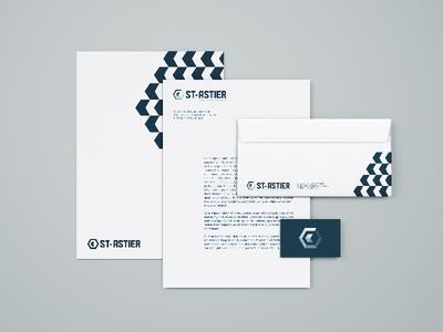 ST-ASTIER - Branding grid typography cement construction identity redesign rebranding symbol logo branding