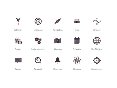 STIM - Pictograms pictograms startup logo identity science innovation graphism dot design conception branding