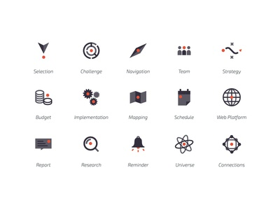 STIM - Pictograms pictograms startup logo identity science innovation graphism dot design conception branding