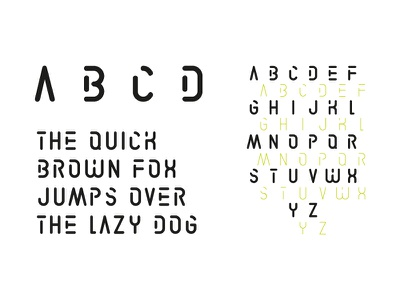 LIBOURNAVELO - Custom Font titling stencil custom typography font graphism