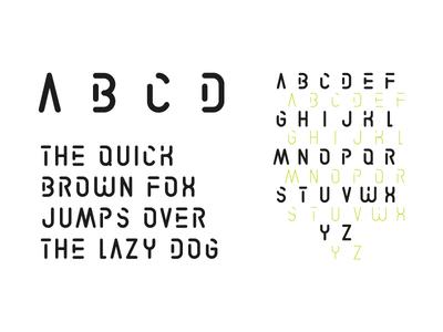 LIBOURNAVELO - Custom Font titling stencil custom typography font graphism