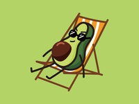 Avocado emoticon