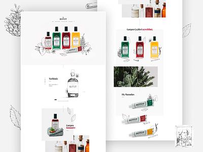 Botot Landing Page design landing page webdesig typography dribbble illustration ux ui figma