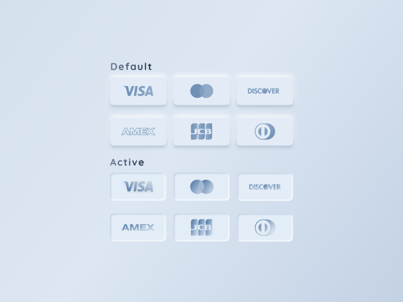Skeuomorph Credit Cards Download Free icon vector mobile app like design dribbble figma download freebies credit card