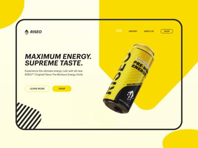 RISEO Web Concept