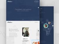 Isadora Design Microsite