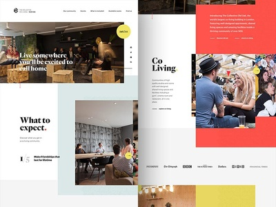 The Collective / Old Oak Co-living sharing social london co-working rental building interior events experience lifestyle community co-living