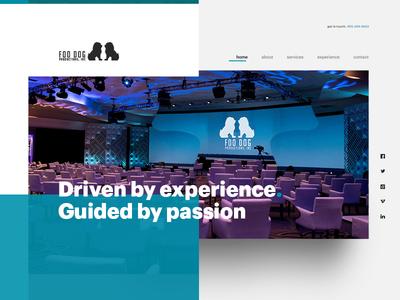 Foo Dog Productions content development audio-visual media webcast corporate video production event management entertainment