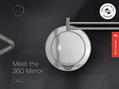 My 360 Mirror mirror bathroom novelty grooming shaving makeup startup invention innovation vanity accessories cosmetics beauty fashion