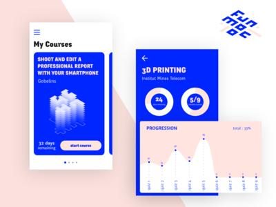Mooc courses App