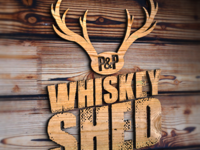 The P&P Whiskey Shed Logo Premier.