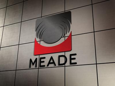 Meade Lexus dealership logo mock up.