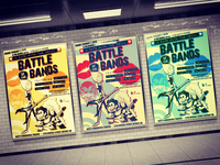 Battle of the Bands posters.
