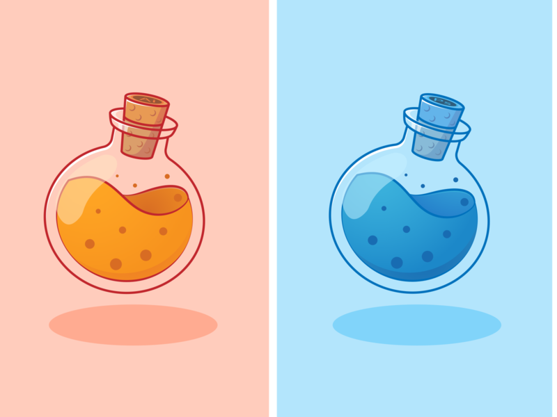 Adobe Potion | Hellllooo Dribbble