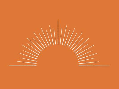 Origin Chiropractic | Sun Icon illustration design branding sun icon sun brand identity vector line work flat designer icon
