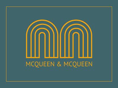 McQueen & McQueen | Logo Design design vector logomark logodesign brand design logo branding brand identity icon flat illustration
