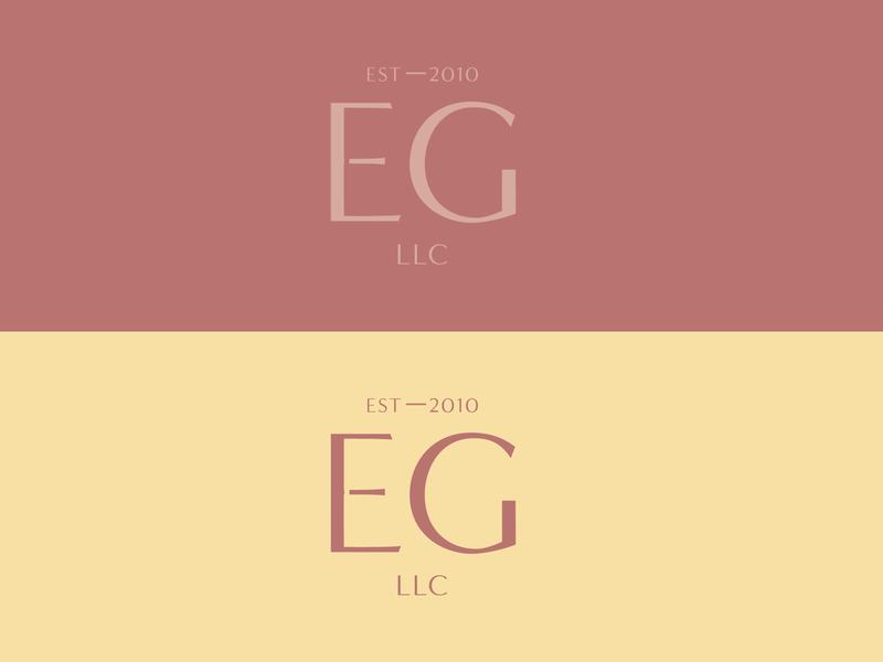 Elaine's Garden Logo Variation flat design typography logo brand design custom type typogaphy logotype logo design herbalist branding brand identity variation logo variations