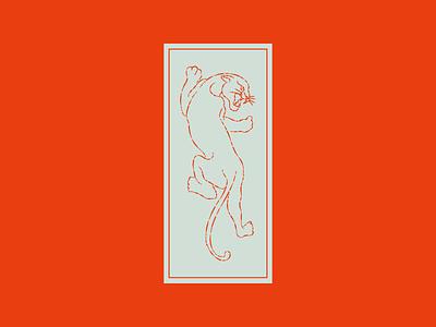 Panther Pains logo vector branding brand identity icon flat illustration design