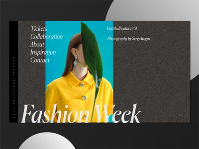 12. Fashion Week Hero Shot Inspiration