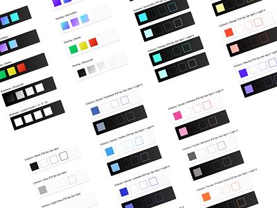 14. South Design System [WIP] ui8 design system logo web typography flat ux icon design clean blue vector app minimal ui