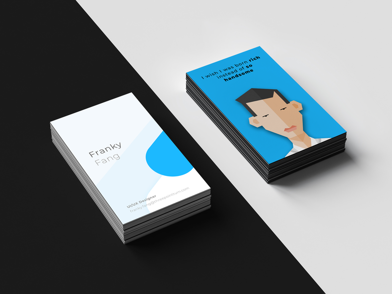 Business card design illustration graphic  design design business card