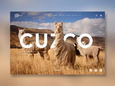 Cuzco Landing Page
