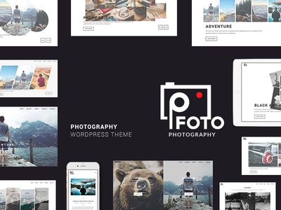 Foto - Photography WordPress Themes for Photographers photographers site photography website template wordpress theme theme