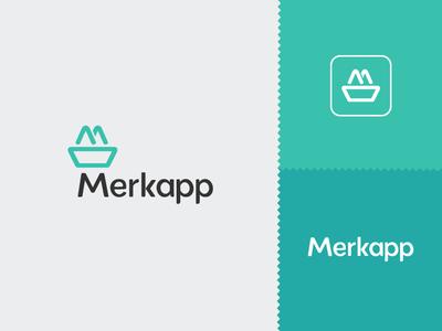 Merkapp graphic design brand identity visual identity brand design logo design